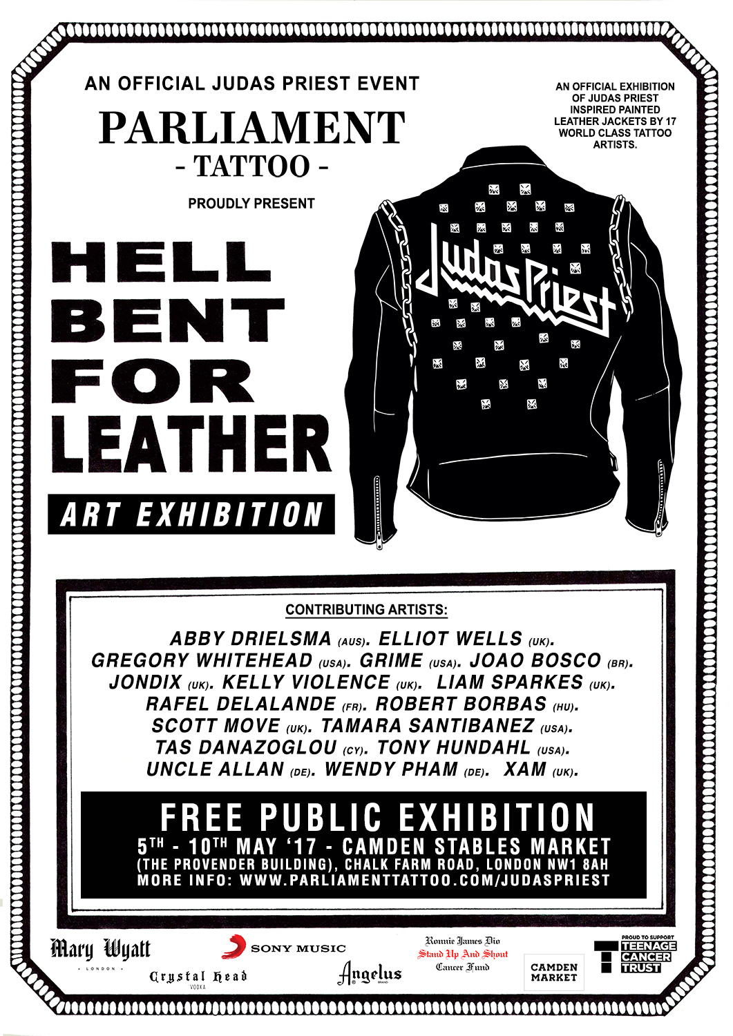 Hell Bent For Leather Judas Priest Exhibition